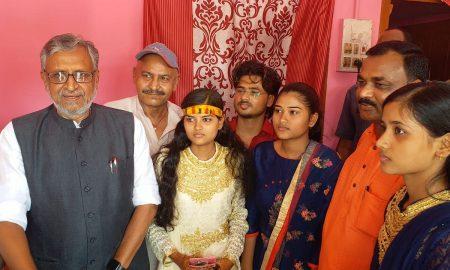 कला,संस्कृति एवं युवा विभाग के मंत्री की बेटी की शादी में पहुंचे उपमुख्यमंत्री मोदी
