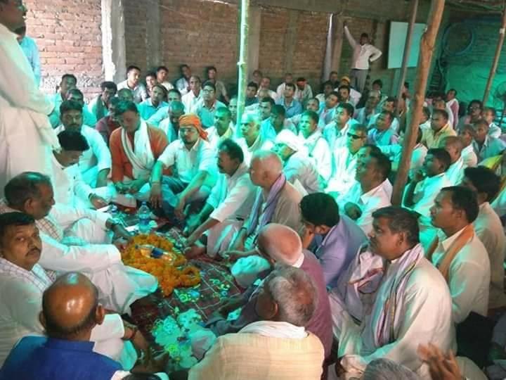 पाटलिपुत्र लोकसभा क्षेत्र के सवर्ण उम्मीदवारों ने संयुक्त रूप से अपना समर्थन निर्दलीय प्रत्याशी श्री आरके शर्मा को दिया