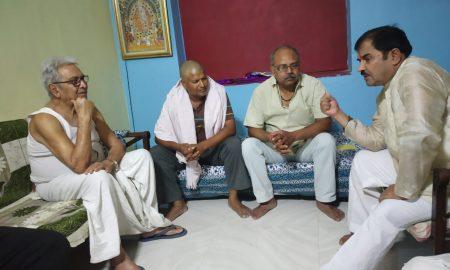 भूमिहार समाज के मान सम्मान की रक्षा के लिए पानी का जहाज लेकर ताल ठोक रहे है आर के शर्मा