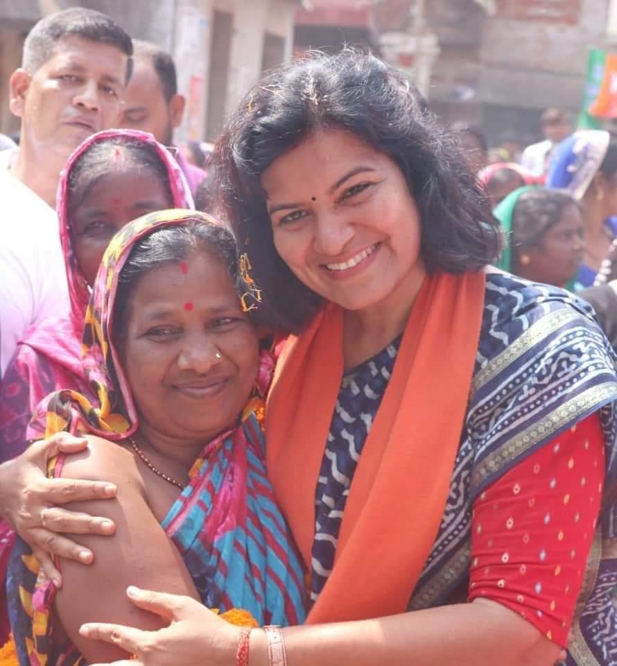 बिहार की बेटी अपराजिता सारंगी उर्फ बबली मिश्रा