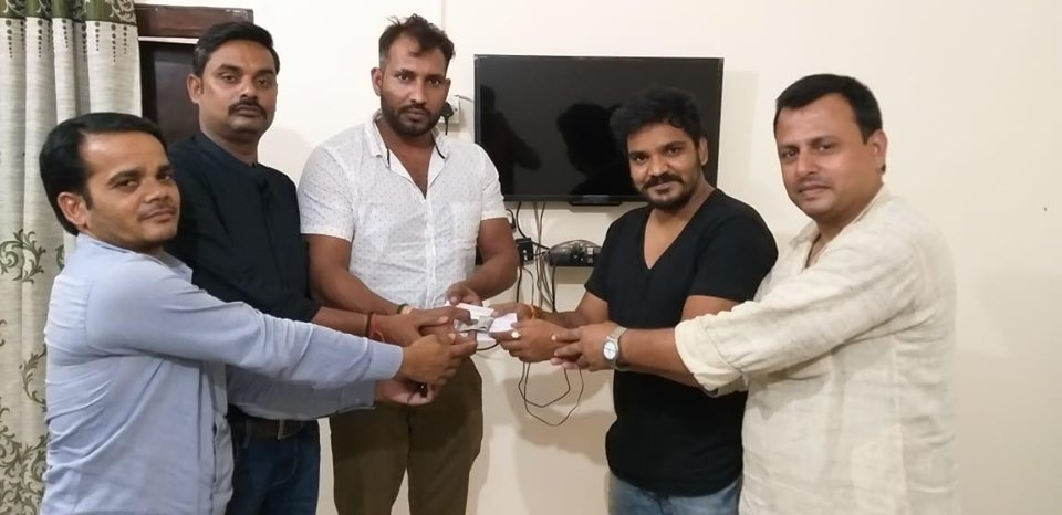 अवैध बालू खनन पर आधारित फिल्म 'धंधा' के लिए अभिनेता रूपेश आर बाबू को किया गया साइन