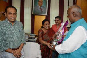 मंत्री प्रमोद कुमार ने संभाला कला, संस्कृति एवं युवा विभाग का पदभार