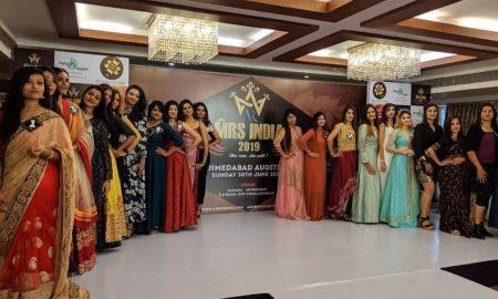 ब्यूटी पेजेंट ए आर (आशीष राय) मिसेज इंडिया 2019 प्रतियोगिता का पटना ऑडिशन