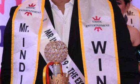 शमी सिंह राजपूत बने एक्जॉटिक इंटरटेनमेंट द्वारा आयोजित शो के मिस्टर इंडिया