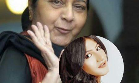 Sushma Swaraj was actually a social activist : Mahika Sharma