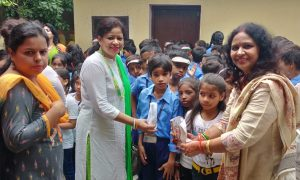 इनरव्हील क्लब ऑफ पटना ने बच्चों के साथ मनाया स्वतंत्रता दिवस