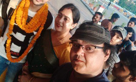 मिस्टर इंडिया 2019 नील आर्यन का पटना एयरपोर्ट पर गाजे बाजे के साथ भव्य स्वागत