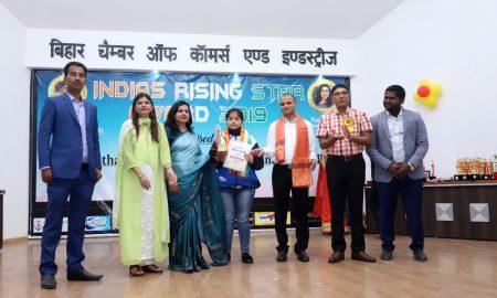 इंडियाज राइजिंग स्टार अवार्ड 2019 ने सम्मानित किये गये 86 लोग