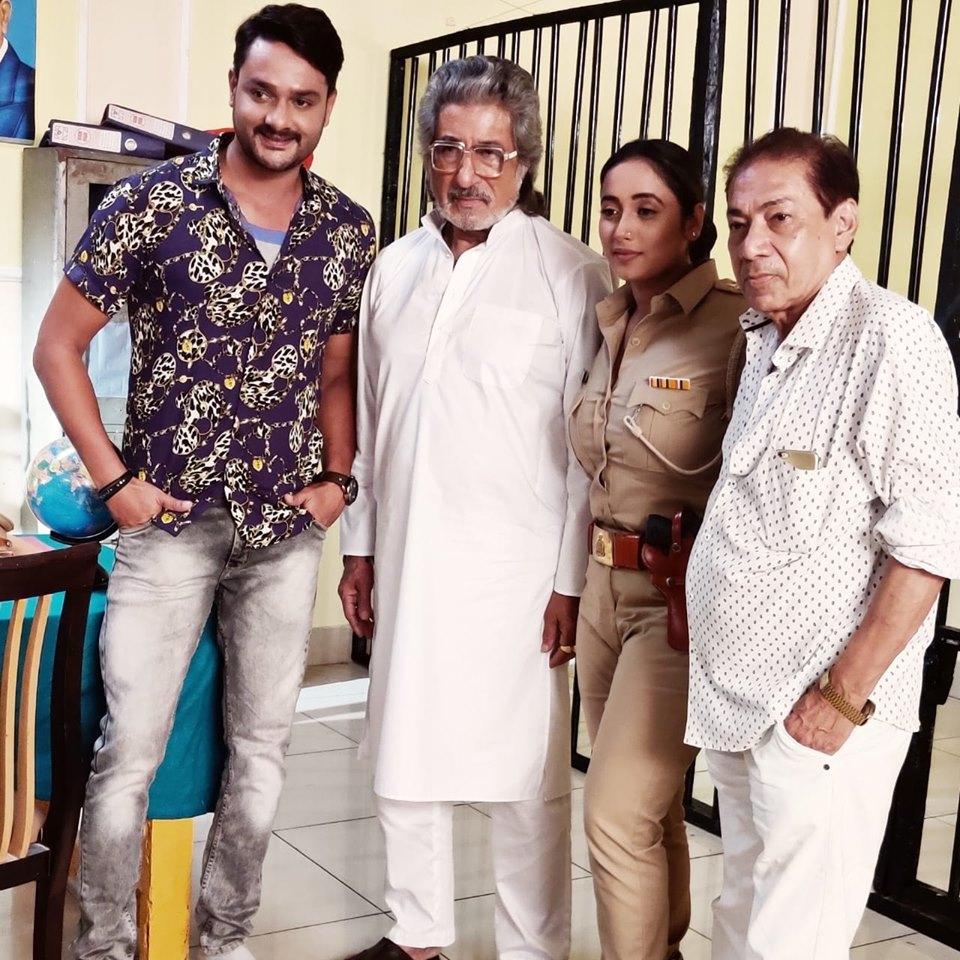 शक्ति कपूर की गौरव झा की फिल्म 'लेडी सिघंम' से फिर हो रही भोजपुरी स्क्रीन पर वापसी