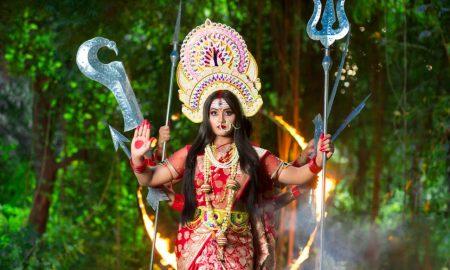 मां दुर्गा के रूप में नजर आयेंगी काजल राघवानी