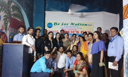 Underprivilege children felt above during children's Day celebration at Be for Nation trust