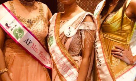 सुचिता सिंह बनीं वीजी मिसेज इंडिया 2019 की मोस्ट फोटोजेनिक फेस