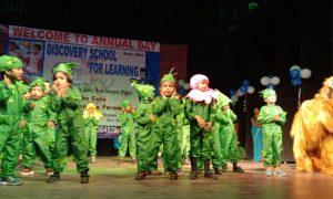 जंगल थीम के नृत्य ने दिया जल - जीवन - हरियाली का संदेश
