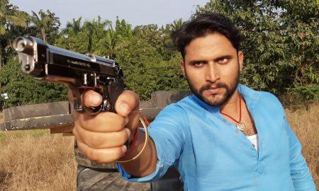 युवा विलेन सोनु पांडेय इन दिनों फ़िल्म मेहरिया की शूटिंग में बिजी