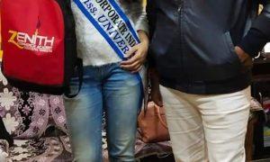 जेनिथ कामर्स एकादमी ने 'मिस कॉरपोरेट इंडिया यूनिवर्स' को किया सम्मानित