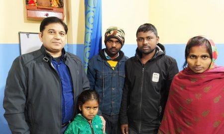 डॉ. राजेश रंजन ने किया एडवांस लेप्रोस्कोपी से 7 साल की बच्ची का सफल ईलाज