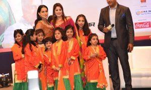 नृत्यांगन हॉबी सेंटर के बच्चों ने जीता कंगना-रवि किशन का दिल