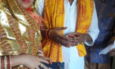 फिल्म 'लव मैरेज' के अभिनेता अमरीश सिंह ने मीरा रोड में खरीदा घर, गृह प्रवेश पर जुटे भोजपुरिया सितारे