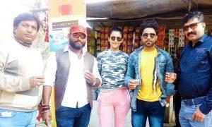 आशीष सिंह बंटी और तृषा खान की फिल्म 'नरसंहार' की शूटिंग समाप्त