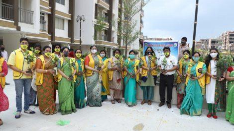 लॉयंस क्लब ऑफ अनंता ने लगाये 1000 पेड़