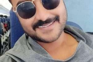 """प्रदीप पाण्डेय चिंटू"""" रॉउडी रॉकी"""" की शूटिंग के लिए हैदराबाद पहुँचे"""