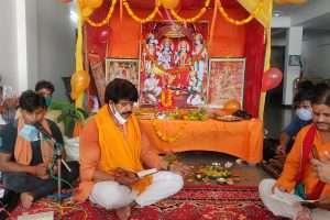 भगवान श्री राम के लिए रो पड़े सांसद रवि किशन