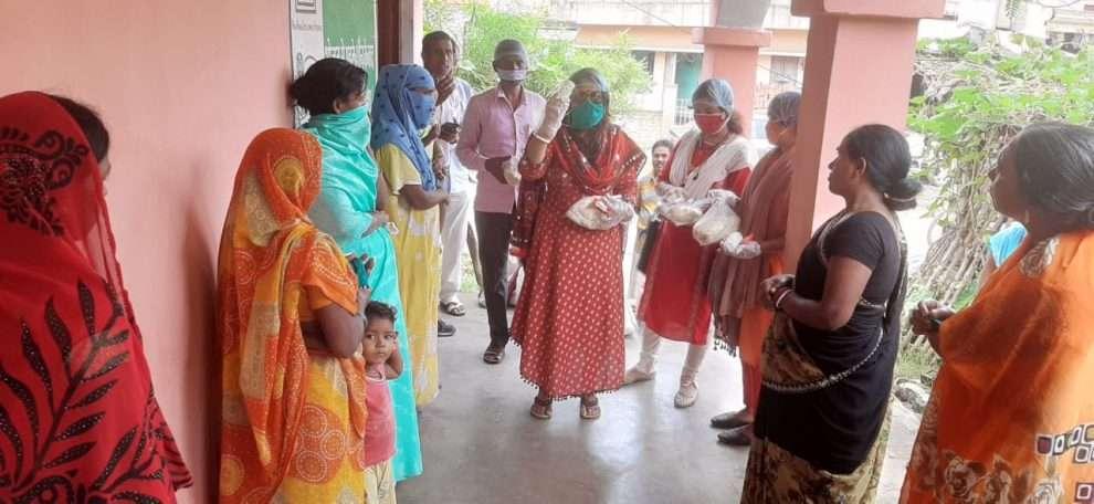 Didi Ji Foundation ने जरूरतमंद के बीच किया राशन का वितण