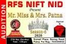 MR-MISS और MRS PATNA 2020 का ऑडिशन 27 सितंबर को