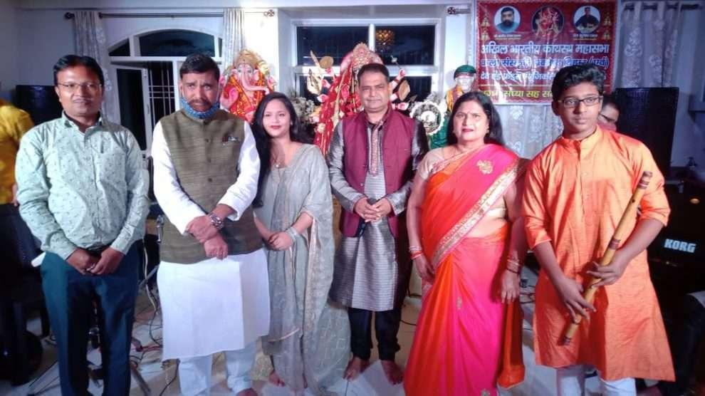 शारदीय नवरात्र के अवसर पर मां दुर्गा सप्तमी भजन संध्या