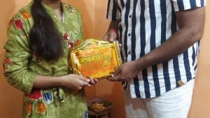 Shan-E-Mithila से नवाजी गयी Radhika Mishra