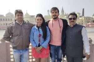 अरविन्द अकेला कल्लू की फिल्म ''आन-बान-शान'' की शूटिंग समाप्त हुआ