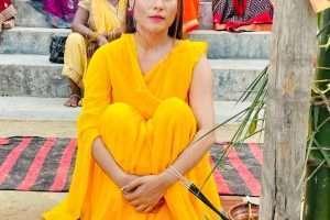 भोजपुरी की खूबसूरत अभिनेत्री संजना राज कर रही हैं शादी, वायरल हुई हल्दी के रस्म की तस्वीरें