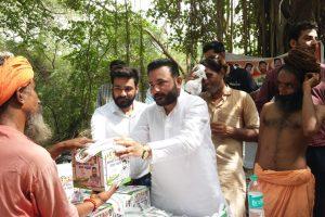 बाबा राधेनाथ की तीसरी बरसी पर आयोजित हुआ भव्य भंडारा व रात्रि जागरण - राणा सुजीत सिंह
