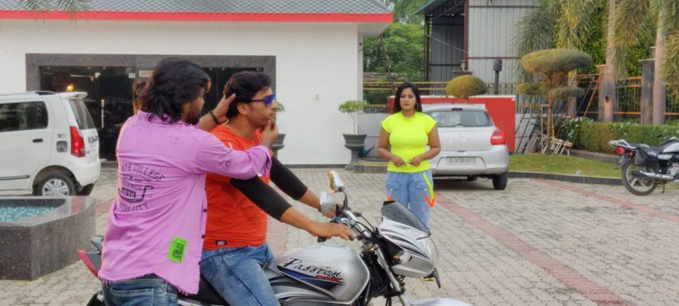 *अंजना सिंह , अरशद शेख , कहा – दर्शकों को आयेगी खूब पसंद फिल्म 'रब हमके मिला द हमार जान से'*