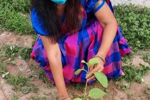 बक्सवाहा के जंगल को बचाने छतरपुर पहुंची पर्यावरण योद्धा डा.नम्रता आनंद
