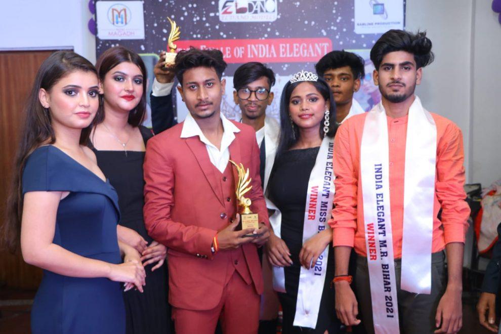 आर्यन, अनिकेश जयसवाल बनें इंडिया एलिगेंट सीजन सिक्स मास्टर बिहार 2021, मधु दास बनीं इंडिया एलिगेंट मिस बिहार 2021 ,