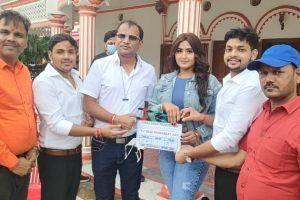 """अंकुश राजा, काजल राघवानी ने शुरू किया भोजपुरी फिल्म """"तू मेरी मोहब्बत है"""" की शूटिंग, भव्य मुहूर्त वाराणसी में संपन्न"""