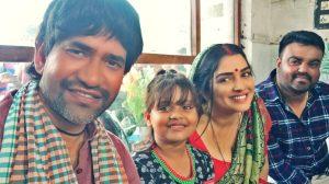 निरहुआ -अम्रपाली -प्रेम राय और पराग पाटिल की फिल्म 'फसल' की शूटिंग लखनऊ में
